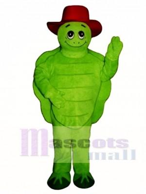 Tommy Turtle Schildkröte mit Hut Maskottchen Kostüm Tier
