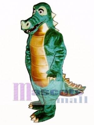 Spiked Alligator Maskottchen Kostüm