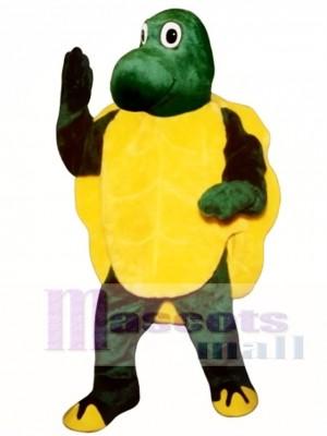 Langsames Schildkröten Maskottchen Kostüm