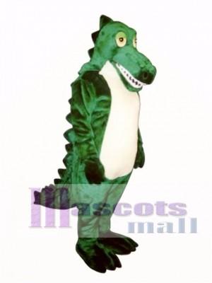 Schläfriges Krokodil Maskottchen Kostüm