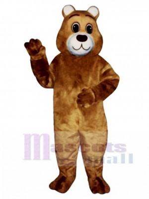 Süße sanfte Bär Maskottchen Kostüm