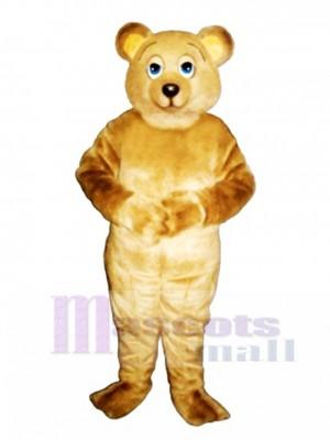 Lazy Bear Mascot Costume