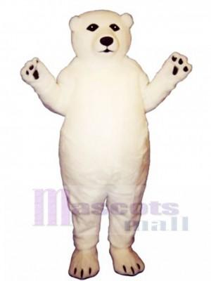 Fatty Polar Bear Mascot Costume