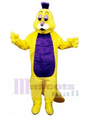 Willy Wurm Maskottchen Kostüm