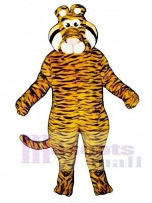 Niedliches Tyrone Tiger Maskottchen Kostüm
