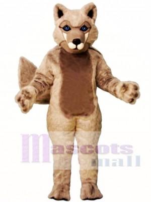 Niedliches Roger Wolf Maskottchen Kostüm