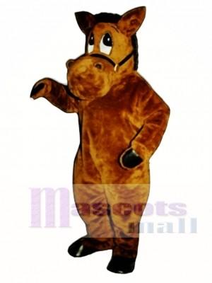 Barney Burro Esel Maskottchen Kostüm Tier
