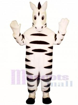 Baby Zebra Maskottchen Kostüm Tier