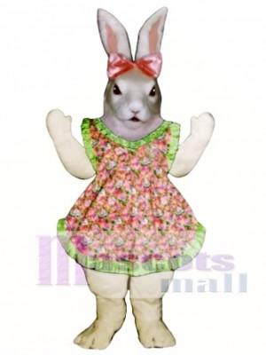 Ostern Jill Häschen Kaninchen mit Schürze & Bow Maskottchen Kostüm