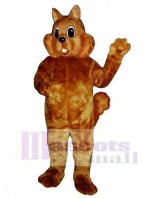 Sonniges Eichhörnchen Maskottchen Kostüm