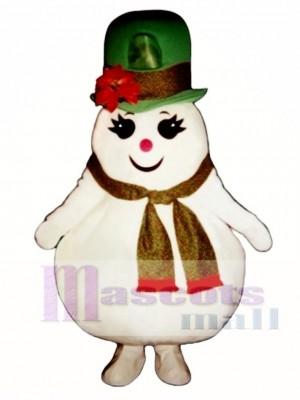 Madcap Schnee Mädchen Maskottchen Kostüm Weihnachten Xmas