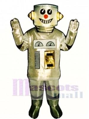 Roboter Maskottchen Kostüm