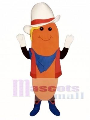 Western Mais Maskottchen Kostüm