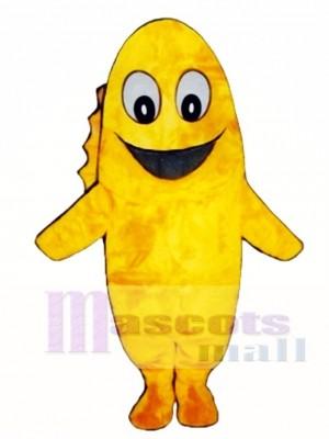 Süßes Goldie Goldfisch Maskottchen Kostüm