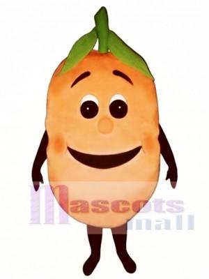 Peachie Maskottchen Kostüm Obst