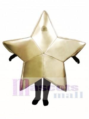 Star Weihnachts Maskottchen Kostüm