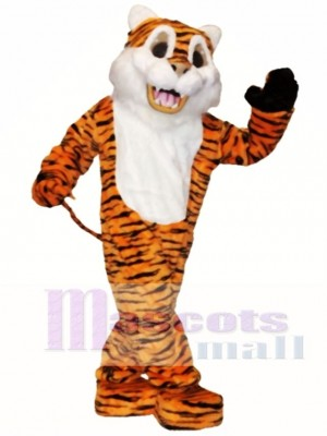 Tiger Maskottchen Kostüm Tier