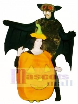 Kürbis Maskottchen Kostüm Pflanze