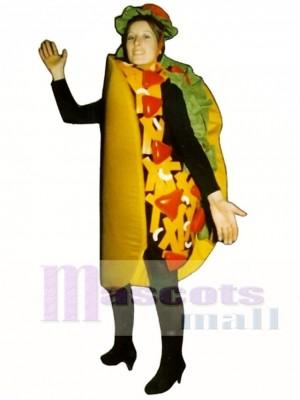 Taco Maskottchen Kostüm