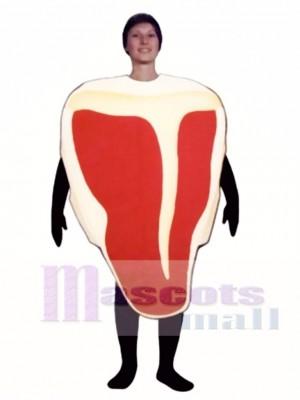 T-Bone Steak Maskottchen Kostüm