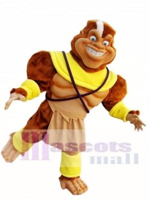 Haarige Affe Maskottchen Kostüm Lustige Affe Maskottchen Kostüme