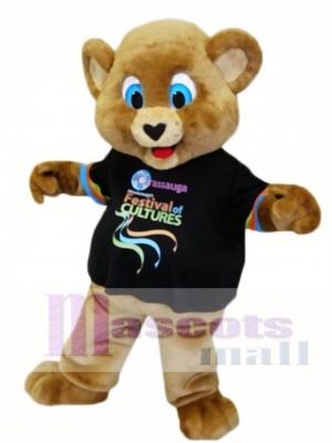 Blaue Augen Brown Bear Maskottchen Kostüme