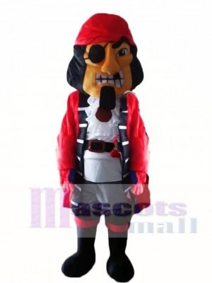 Kapitän Piraten Maskottchen Kostüme Menschen