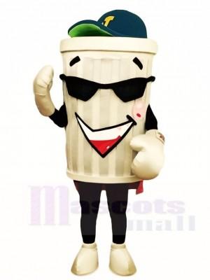 Müll Mülleimer Ash Bing Maskottchen Kostüme