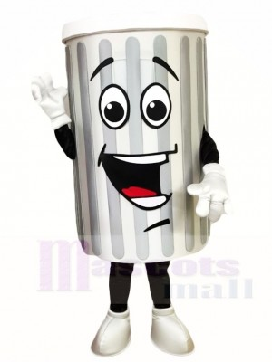 Müll Mülleimer Ash Bin Maskottchen Kostüme