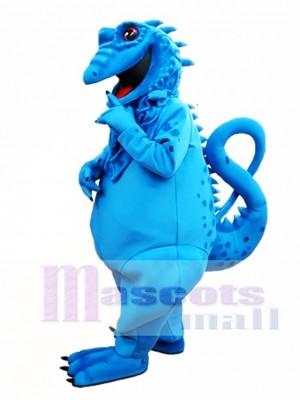 Blaue Eidechse Maskottchen Kostüm Blaue Leguan Maskottchen Kostüme