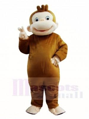 Neugieriger George Affe Maskottchen Kostüme Tier
