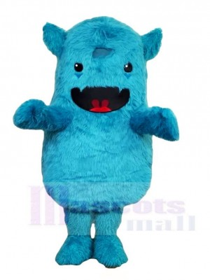 Blaue Monster Maskottchen Kostüme