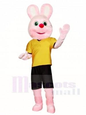 Rosa Hase Maskottchen Kostüme Osterhase Tier
