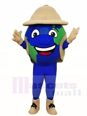 Die Earth Globe Maskottchen Kostüme
