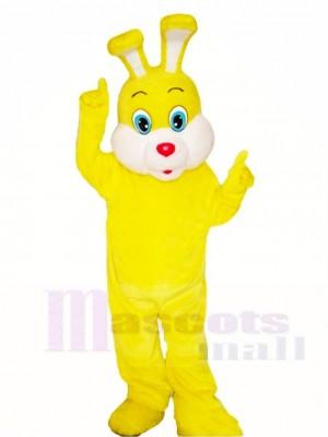 Gelb Ostern Hase Maskottchen Kostüme Tier