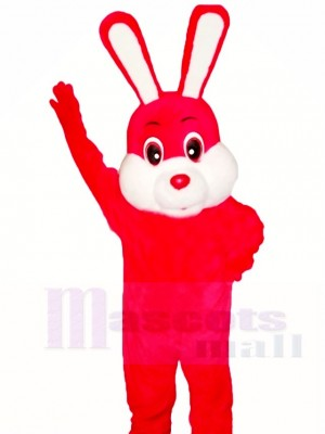 rot Ostern Hase Maskottchen Kostüme Tier