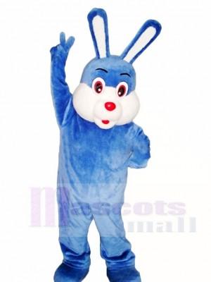 Blau Ostern Hase Maskottchen Kostüme Tier