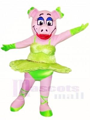 Schwein Sau Maskottchen Kostüme Bauernhof Tier
