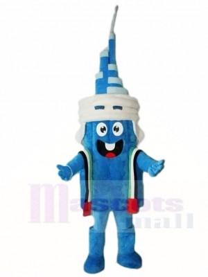 Blauer Turm Maskottchen Kostüme