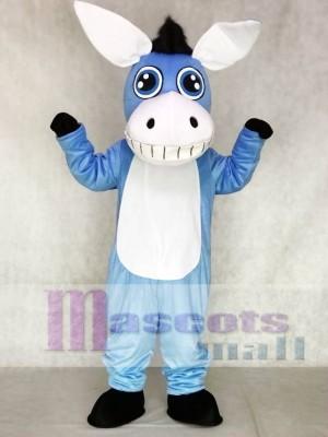 Blau Esel Maskottchen Kostüme Tier