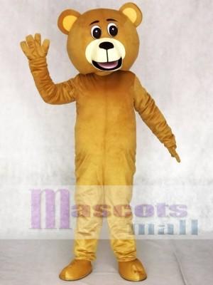 Licht Braun Glücklich Bär Maskottchen Kostüme Tier