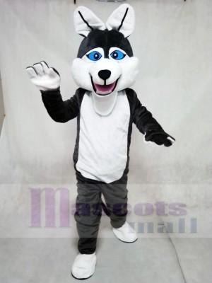 Bauholz Wolf Maskottchen Kostüme Tier