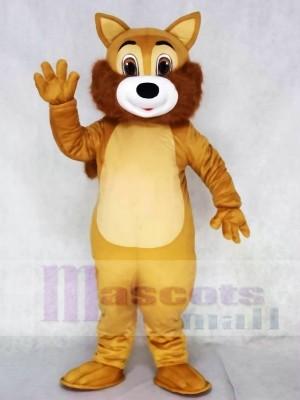 Braun Eichhörnchen Maskottchen-Kostüme mit Bräunen Bauch Tier