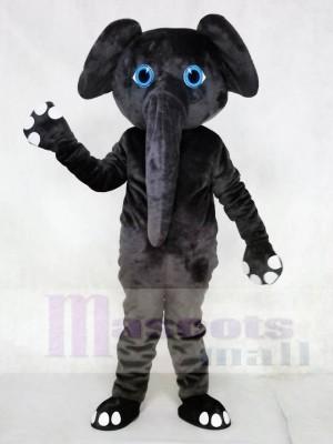 Grauer Elefant Maskottchen Kostüme Tier