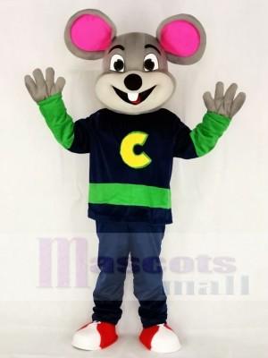 Neue Version Chuck E. Käse Fast Food Promotion Maskottchen Kostüm