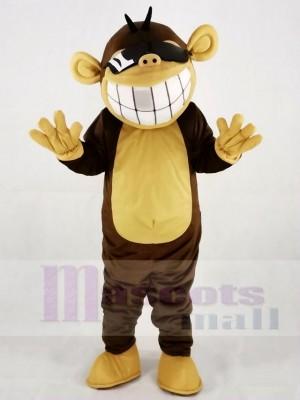 Lustiges glückliches Affe Maskottchen Kostüm Tier