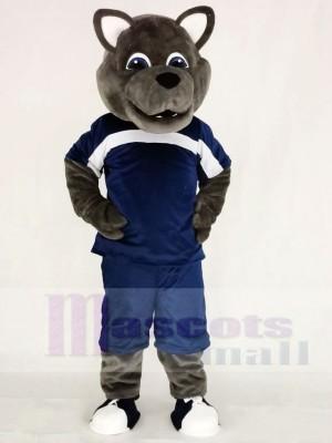 Leistung Wolf im Sportanzug Maskottchen Kostüme Tier