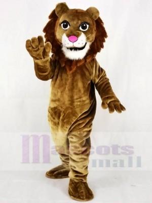 Realistisch Freundlich Löwe Maskottchen Kostüm Tier
