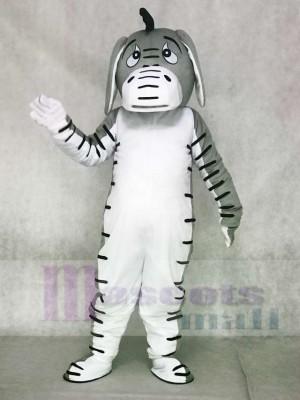 Graues Esel Maskottchen Kostüm Tier