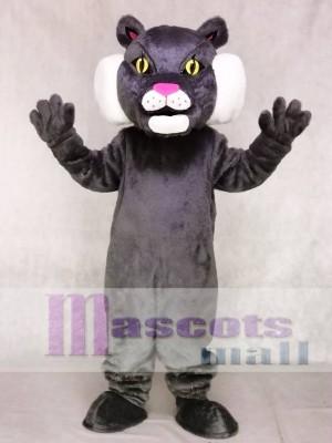 Nettes Rotluchs Katzen Maskottchen Kostüm